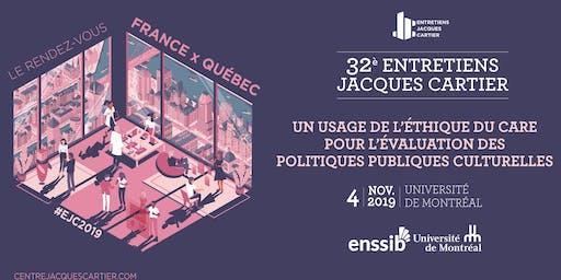 UN USAGE DE L'ÉTHIQUE DU CARE POUR ÉVALUER POLITIQUES PUBLIQUES CULTURELLES
