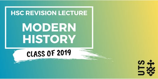 Modern History - HSC Revision Lecture (UTS)