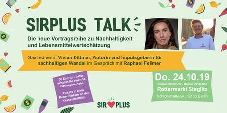 SIRPLUS TALK mit Vivian Dittmar Tickets