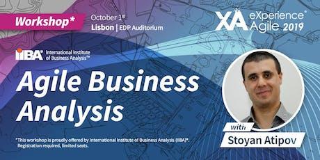 XA Workshop: Agile Business Analysis - Stoyan Atipov Tickets