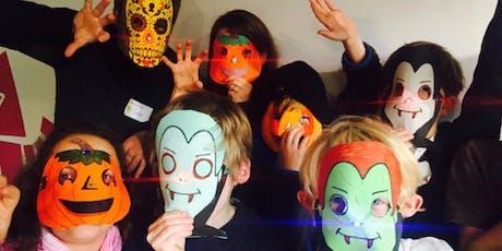 Einmaliger Workshop: HALLOWEEN – LED-Maske & Stop-Motion Film Tickets