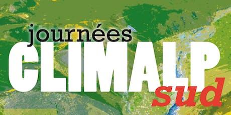 Journées CLIMALPsud 2019 billets