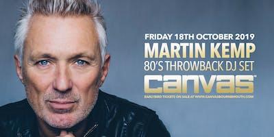 Martin Kemp: 80's Throwback DJ Set