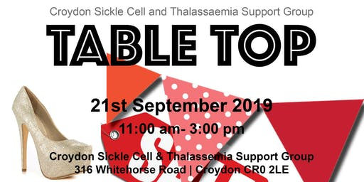 The Table Top Sale