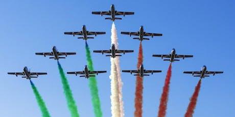 Linate Air Show - Frecce tricolori biglietti