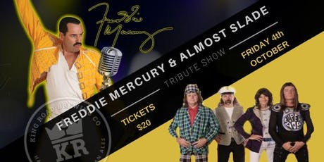 FREDDIE MERCURY & ALMOST SLADE TRIBUTE @ KRB tickets