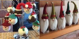 Copy of Felt Making Workshop (Christmas Decorations)