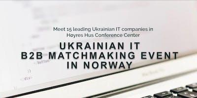 UKRAINIAN IT B2B MATCHMAKING EVENT IN NORWAY