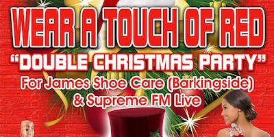 WEAR A TOUCH OF RED (DOUBLE CHRISTMAS PARTY)