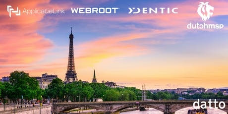 DattoCon 2019 Paris Roadtrip tickets