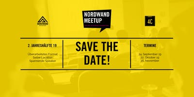 SAVE THE DATE: NORDWAND.Meetup - September