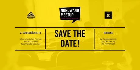 SAVE THE DATE: NORDWAND.Meetup - November Tickets