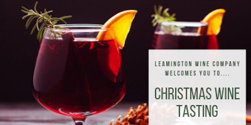Christmas Wine.Christmas Wine Tasting Evening
