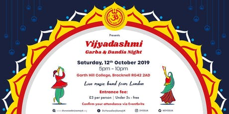Vijyadashmi Garba & Dandia Night 2019 tickets
