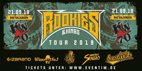 Rookies & Kings Tour: Local Bastards / Alles mit Stil / Wiens No. 1 / eizbrand / DJ Martino Senzao Tickets