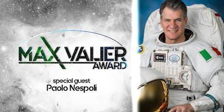 MVA - Max Valier Award 2019 | Special guest: Paolo Nespoli biglietti