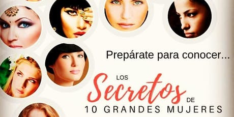 Conferencia: Los secretos de 10 grandes mujeres entradas