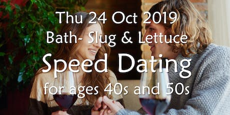 Speed Dating- Bath (Ages 40s and 50s)- BABS (Bath & Bristol Singles) tickets
