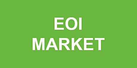 Schrijf je in voor de EOI Village Market tickets
