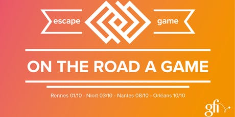 """Urban Escape Game """"ON THE ROAD A GAME"""" billets"""