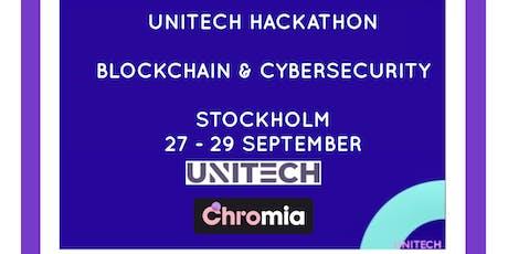 UniTech Hackathon - Cybersecurity & Blockchain tickets