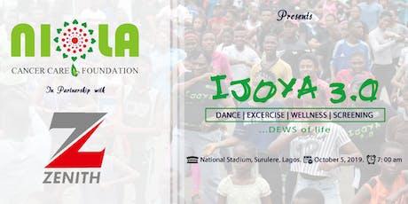 "IJOYA 3.0 - ""DEWS"" Of Life (Dance; Exercise; Wellness & Screening) tickets"