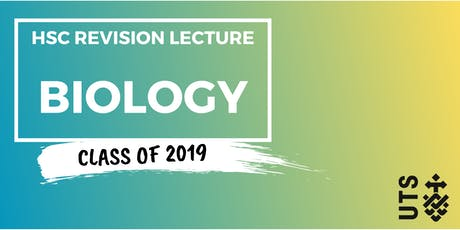 Biology - HSC Revision Lecture (UTS) tickets