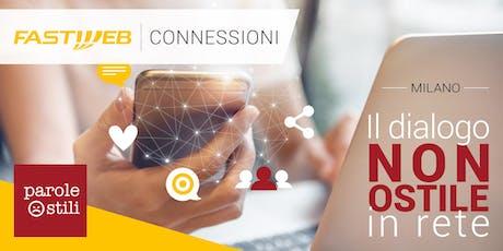 """Fastweb Connessioni: il dialogo """"non ostile"""" in rete biglietti"""
