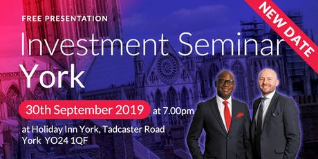 York Investment Seminar on Buy2LetCars tickets