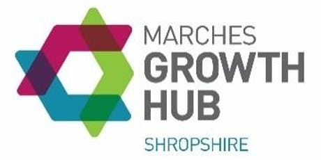 Opening of the new office space at the Marches Growth Hub Shropshire tickets