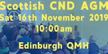 Scottish CND AGM tickets