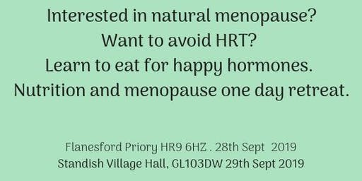 Nutrition and Natural Menopause One Day Retreat