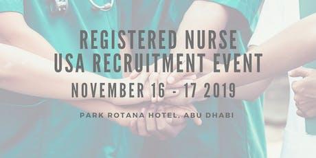 Conexus Recruitment Drive: Abu Dhabi tickets