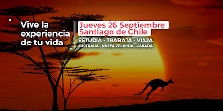 SANTIAGO DE CHILE | Charla gratuita ¡Ven a Australia!  entradas
