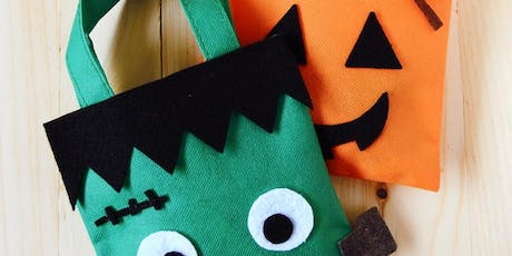 Open Studio: Trick-or-Treat Bags (all ages) tickets