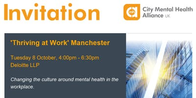 'Thriving at Work' Manchester