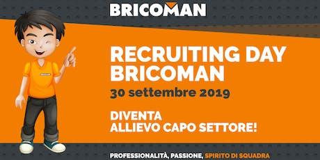 Bricoman, il 30 settembre Recruiting Day a Varese tickets