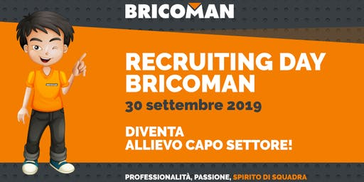 Bricoman, il 30 settembre Recruiting Day a Varese