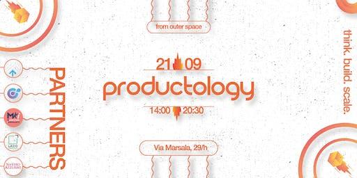 Productology - la prima conferenza sul prodotto in Italia