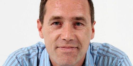 Author Declan Burke