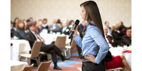 Public Speaking and Presentations to advance your Career tickets