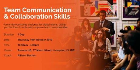 Team Communication & Collaboration Skills tickets