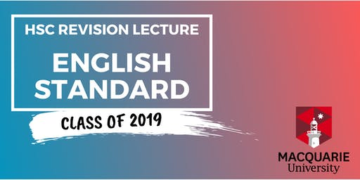 English Standard - HSC Revision Lecture (Macquarie)