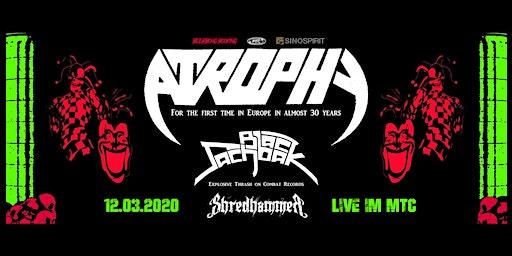 Atrophy | Back Sachbak | Shredhammer LIVE in Köln