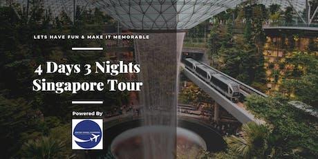 4D3N Singapore Fun Family Tour tickets