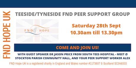 Teeside / Tyneside FND Peer Support Group tickets