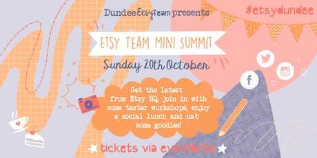 Dundee Etsy Team Mini Summit 2019 tickets
