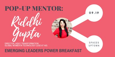 Pop-Up Mentor CLT - Emerging Leaders Power Breakfast