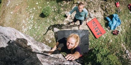 Alpkit School of Adventure: Bouldering Course tickets