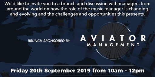 EMMA and AAM brunch at Reeperbahn 2019, sponsored by Aviator Management
